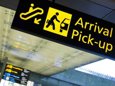 Pick up's on the airport -